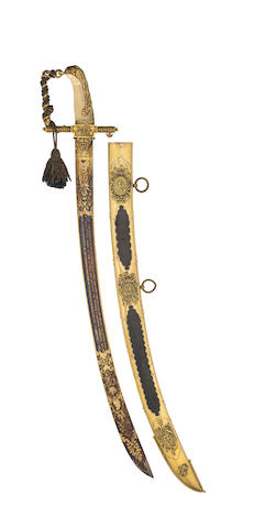 A Fine Lloyd's Patriotic Fund Sword Of £50 Value To R. Torin Esqr., Com.ng The H.E.I. Co.s Ship Coutts