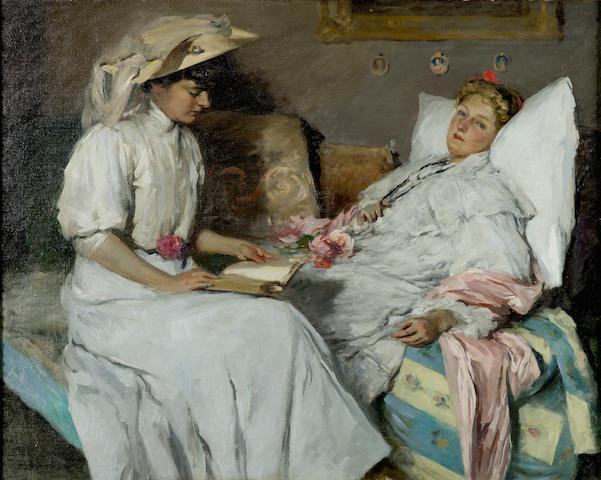 Rupert Bunny (1864-1947) La Convalescente
