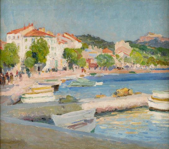 Emanuel Phillips Fox (1865-1915) Cassis, South France