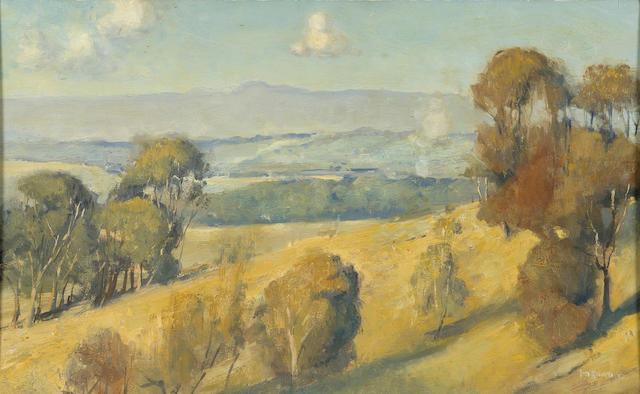Tom Roberts (1856-1931) (Dandenong Landscape) 1922