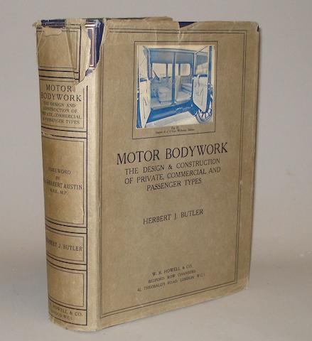 Herbert J Butler: Motor Bodywork; 1924,