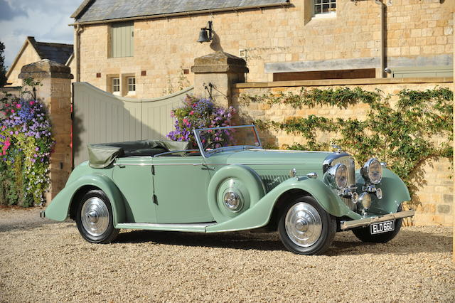 1937 Bentley 4¼-Litre All Weather Tourer  Chassis no. B170KT Engine no. W9BP