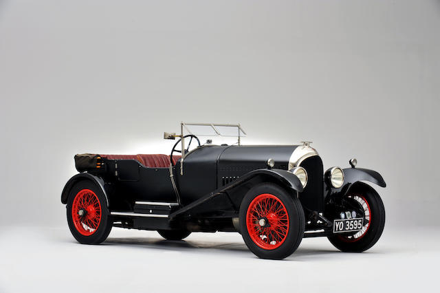 1926 Bentley 3-Litre Speed Model Tourer  Chassis no. RT1541 Engine no. BL1609