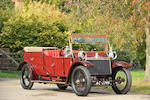 Originally the property of H.H. The Maharajah of Rewa,1912 Lanchester 38hp Detachable Top Open Drive Limousine  Chassis no. 1154 Engine no. 1197