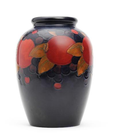 A William Moorcroft 'Pomegranate' design vase Circa 1915