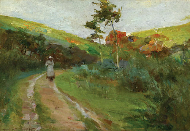 Walter  Withers (1854-1914) The Road Home