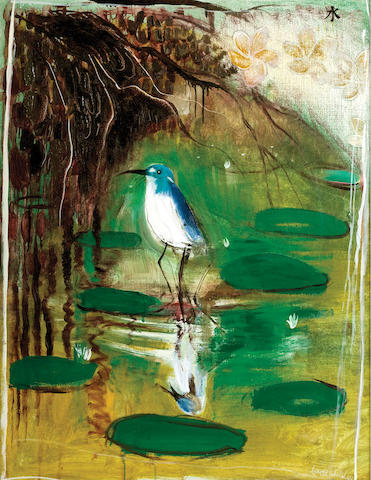 Brett Whiteley (1939-1992) Shui (Water Wader) 1978-79