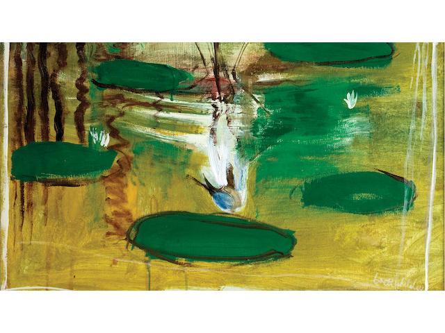 Brett Whiteley (1939-1992) Shui (Water Wader) 1978-79