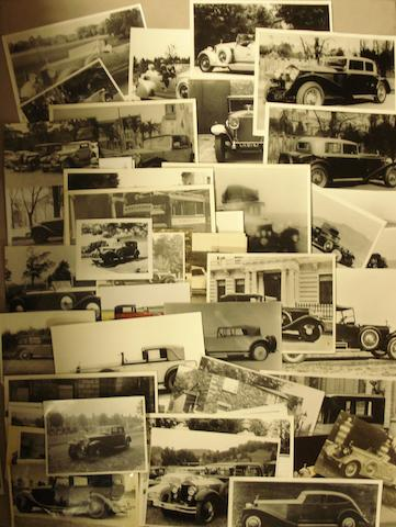 A collection of Rolls-Royce photographs,