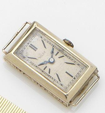 Rolex. A 9ct gold lady's manual wind wristwatch Glasgow Hallmark for 1929