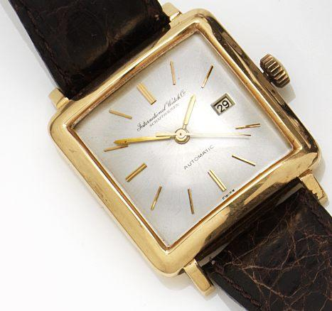 IWC. 18ct gold calendar automatic wristwatchCase No.1492970, Circa 1959