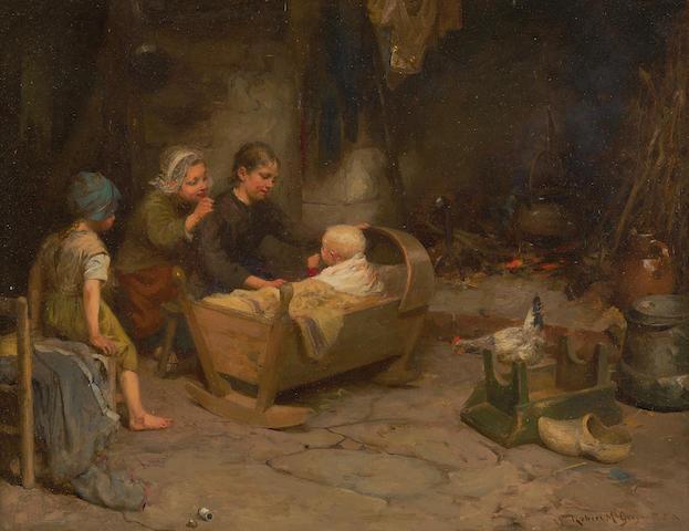 Robert McGregor, RSA (British, 1847-1922) 29 x 38.5 cm. (11 7/16 x 15 3/16 in.)