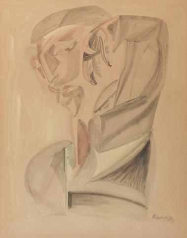 Robert Colquhoun (British, 1914-1962) Figure 48 x 37 cm. (18 7/8 x 14 9/16 in.)