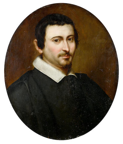 Attributed to Giovanni Battista Carboni (Genoa 1592-1677) Portrait of a gentleman, bust-length,  unframed
