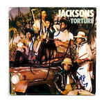 Michael Jackson: An autographed Jacksons' single, 'Torture',