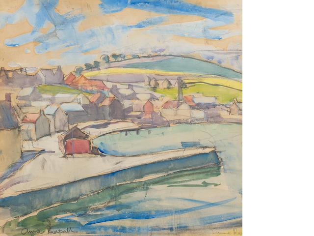 Anne Redpath, OBE RSA ARA LLD ARWS ROI RBA (British, 1895-1965) 45 x 46.5 cm. (17 11/16 x 18 5/16 in.)