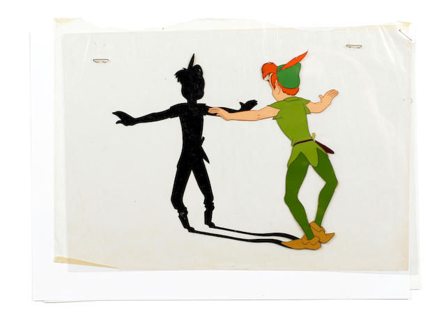 Peter Pan: A Walt Disney animation art celluloid, 1953,