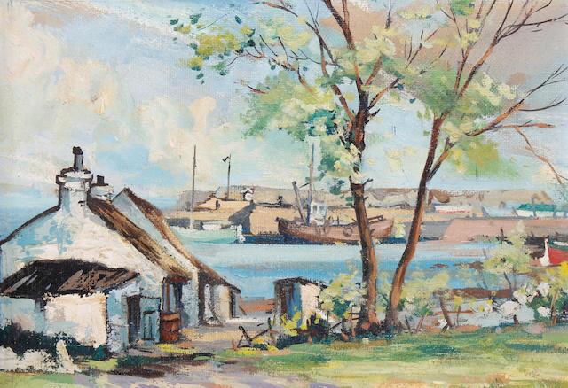 Kenneth Webb (Irish, born 1927) Cockle Row