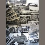 A collection of post-War coachwork photographs