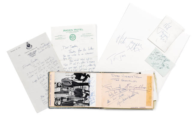 A group of Rolling Stones memorabilia, 1960s,