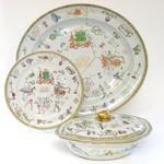 A Canton export dinner service Early 19th century
