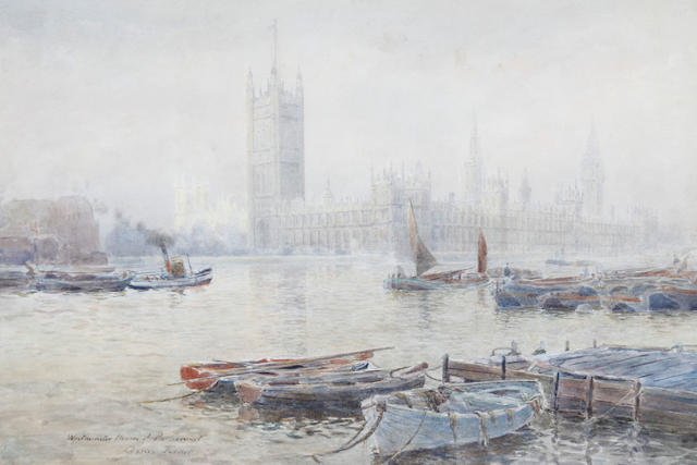 Agnes Turner The Thames at Westminster