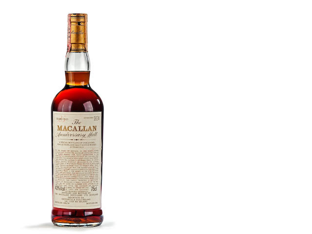 The Macallan Anniversary Malt-1958/59-25 year old