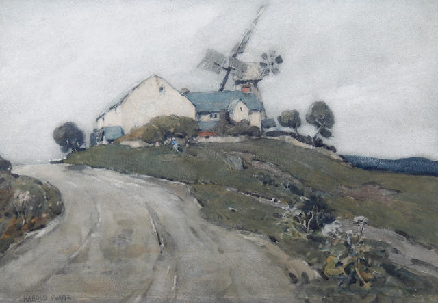 Harold Waite (British) 'The top of the hill'