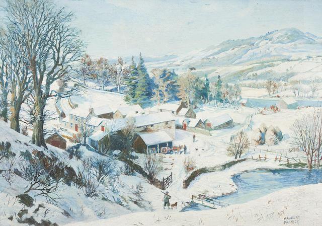 James McIntosh Patrick RSA ROI ARE LLD (British, 1907-1998) 17 x 24.75 cm. (6 11/16 x 9 3/4 in.)