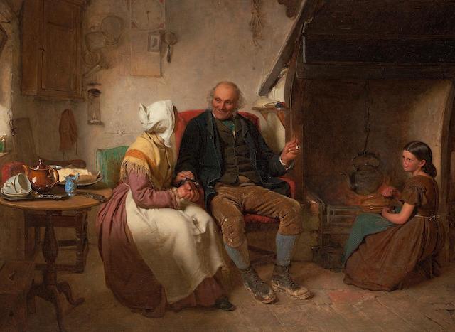 John Faed, RSA (British, 1819-1902) John Anderson My Jo