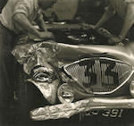 'Barn Find' fresh from 42 years in single ownership, The Ex-Works, Le Mans 24-Hours, Sebring 12-Hours, Carrera PanAmericana and Bahamas Speed Week, Nassau,1953-55 Austin-Healey Special Test Car/100S Prototype Sports-Racing Two-Seater  Chassis no. SPL 226/B Engine no. SPL 261-BN