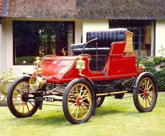 1904 Stanley CX 8hp Steam Runabout  Engine no. 0825