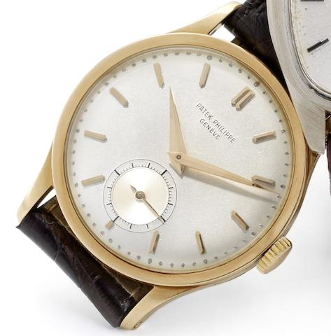 Patek Philippe. A fine 18ct rose gold wristwatch Calatrava, Case No.306431, Movement No.723301, Circa 1950