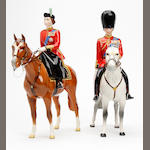 Beswick Two Beswick 'Trooping the Colour' figures