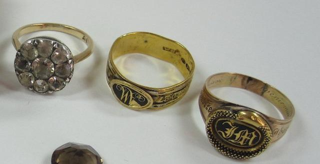 A 19th century memorial ring (3)