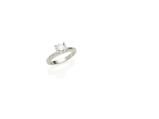 A 1.51 carat solitaire diamond ring by Canturi