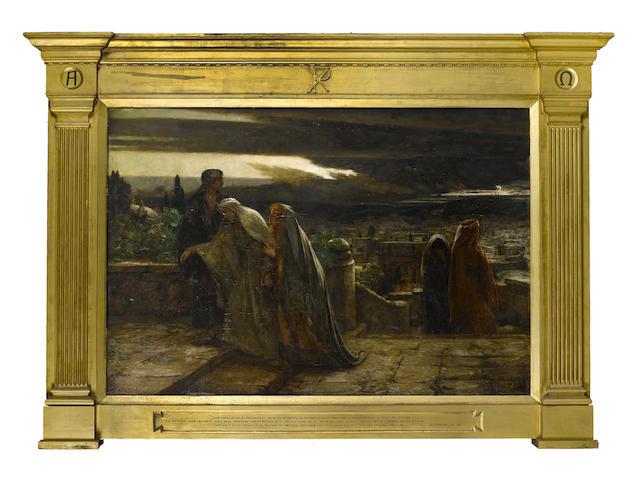 Herbert Gustave Schmalz (British, 1856-1935) The Return from Calvary