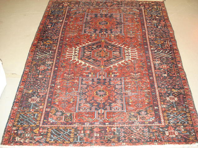 A Karaja rug, North West Persia, 182cm x 145cm