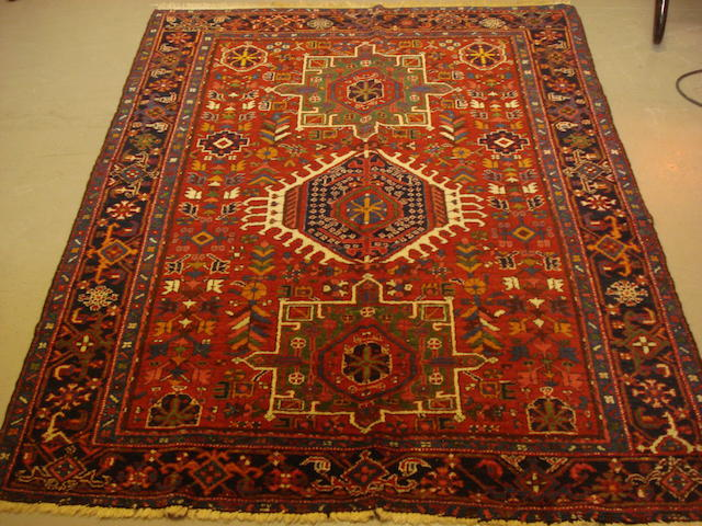 A Karaja rug, North West Persia, 175cm x 140cm