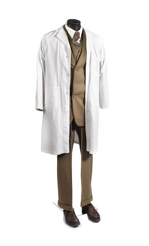 Doctor Who - The Empty Child, 2005 Richard Wilson as Doctor Constantine: A complete costume, comprising;8