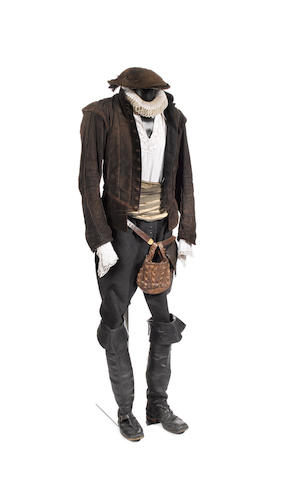 Doctor Who - The Shakespeare Code, 2007 Dean Lennox Kelley as William Shakespeare: A complete costume, comprising: 8