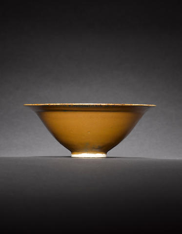 An outstanding Cizhou 'partridge feather' bowl Northern Song / Jin dynasty