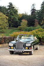 The property of a titled gentleman,1965 Rolls-Royce Silver Cloud III Drophead Coupé  Chassis no. LCSC85B Engine no. B42CS