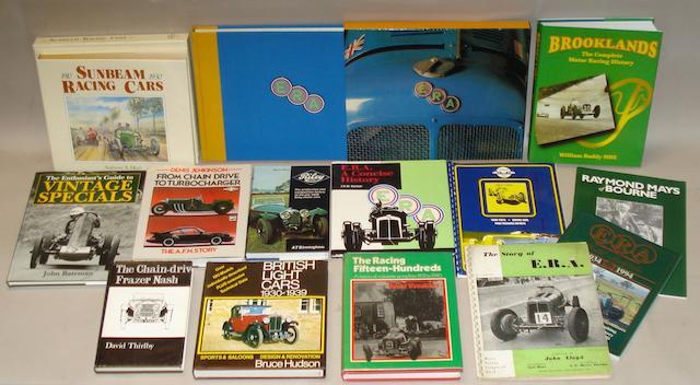 David Weguelin: ERA - The History of English Racing Automobiles Limited;