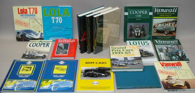 Doug Nye & Tony Rudd: BRM - The Saga of British Racing Motors; Volumes 1 to 3,