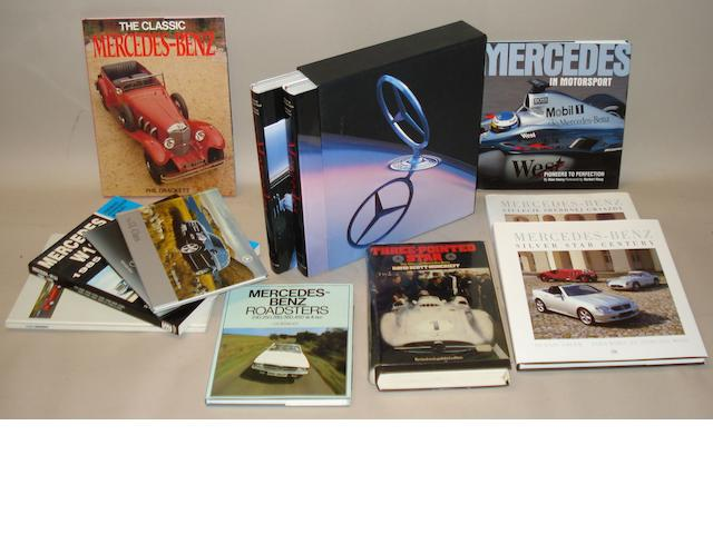 Books relating to Mercedes-Benz,