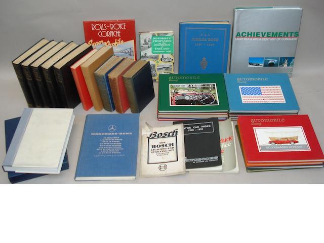 Arthur W Judge: The Modern Motor Engineer; Volumes I-V,