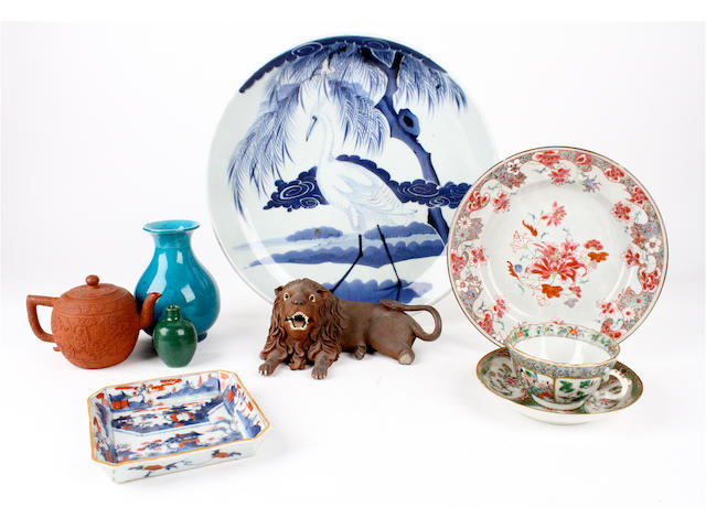 A group of Chinese pottery and porcelain Various dates