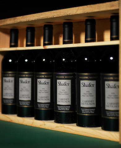 Shafer Hillside Select Cabernet-Sauvignon 1996 (6)