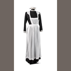 Doctor Who - Tooth and Claw, 2006 A maids costume, as worn by Queen Victoria's staff,